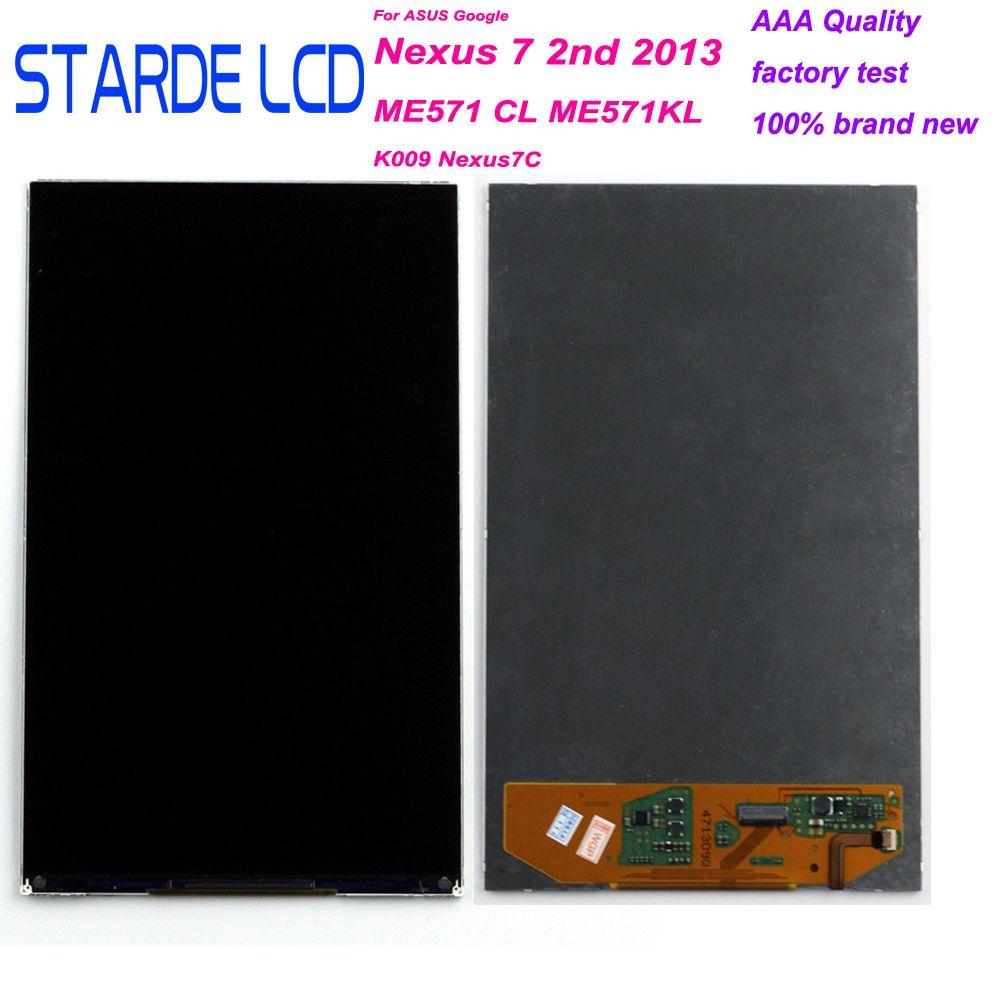 STARDE LCD pour Google Nexus 7 2nd 2013 ME571 ME571CL ME571KL 7 ''LCD écran tactile numériseur câble d'insertion de queue