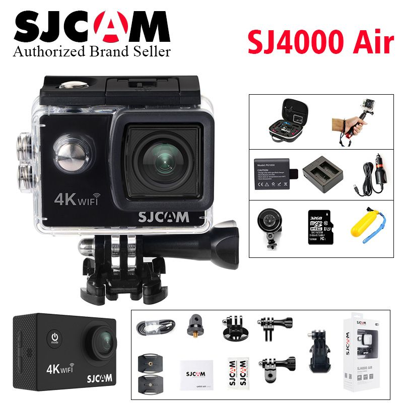 SJCAM SJ4000 AIR 4k WIFI Action Camera Full HD Allwinner Chipset 4K 30fps WiFi Sport DV 2.0