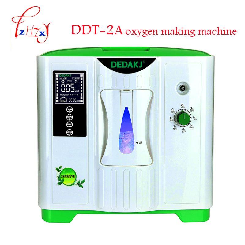 2-9L oxygen concentrator generator oxygen making machine 110V/220V oxygen generating machine with English version DDT-2A