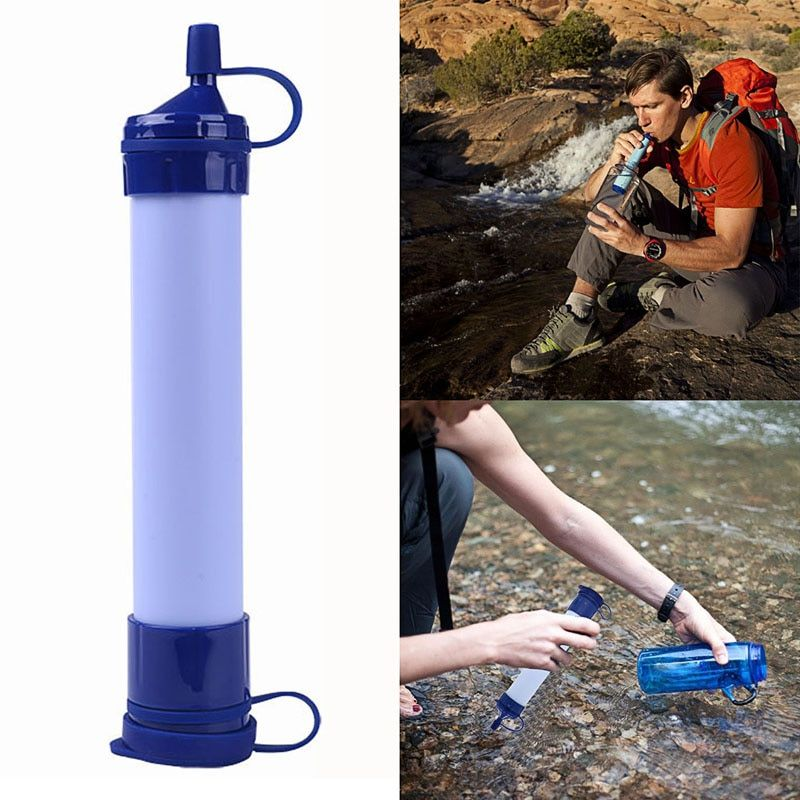 1 Pc Outdoor Camping Tools Portable Water Filter Purifier Camping Gear Water Bottles Water Bottles & Hydration Tool Kit