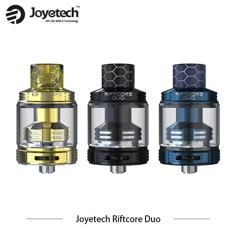 Original Joyetech RIFTCORE Duo Atomizer 3.5ml Big Capacity Electronic Cigarettes Tank 510 thread fit Electronic cigarettes Kits