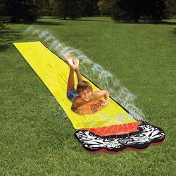 4.8m Giant Surf 'N Water Slide Fun Lawn Water Slides Pools For Kids Summer PVC Games Center Backyard Outdoor Children Adult Toys