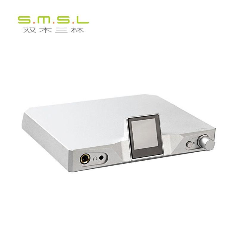 SMSL M9 32bit/768 kHz DSD512 AK4490x2 XMOS HiFi Digital-Decoder Optische/Koaxial/USB Dac-kopfhörerverstärker aluminium Gehäuse