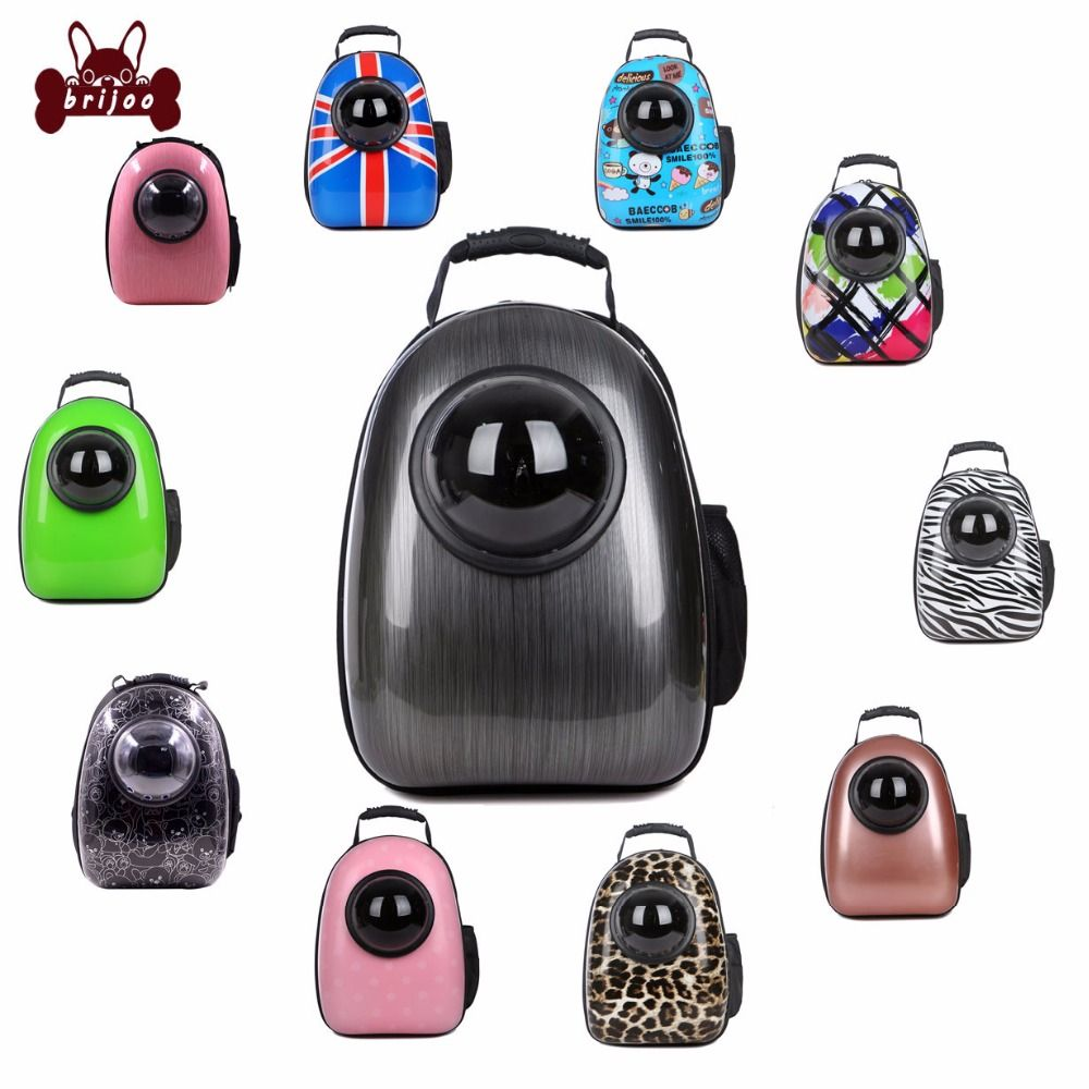 Dog Backpack Breathable Shoulder Carrier Space Capsule Shaped Bag Pet Travel Carrying Outside Travel Portable Bag Pet Products