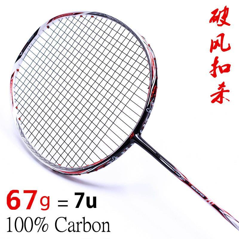 Badminton Rackets Racquet Sports 6U 7U 28 - 35 LBS