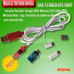 Keajaiban Thunder Dongle + Kabel Keajaiban Thunder Pro Dongle Tidak Perlu Miralce Kotak dan Kunci