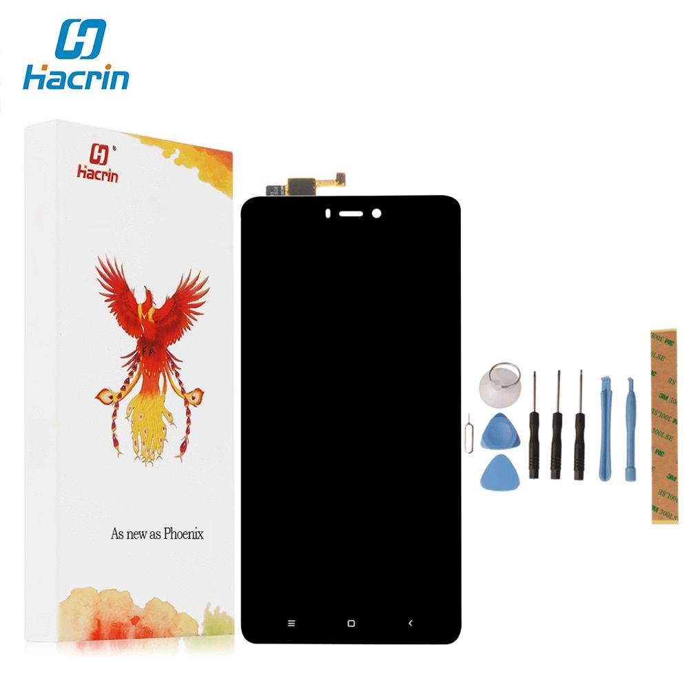 Hacrin For Xiaomi MI4S mi4s LCD Display+Touch Screen Digitizer Assembly Screen For Xiaomi Mi4S Mi 4S Phone FHD 1920*1080 5.0'