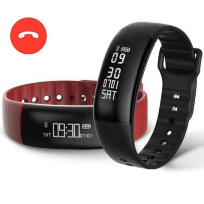 Smart Bracelet A69 Smart Wristband Pedometer Heart Rate Blood Pressure Watch Fitness Tracker Smart band Pk mi band 2 Pk Xiomi