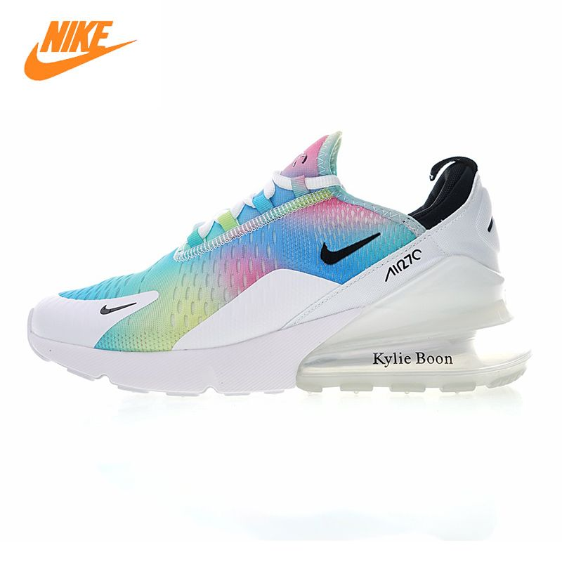 NIKE AIR MAX 270 Women's Running Shoes, White / Pink, Breathable Lightweight Non-slip Wear Resistance AH6789 700 AH6789 600