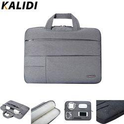 KALIDI Laptop Sleeve 12 13.3 14 15.6 Pouce Portable Sac Pour Macbook Air Pro 13 15 Ordinateur Portable Sac 13 15 Pouce Dell Asus HP Acer Manches