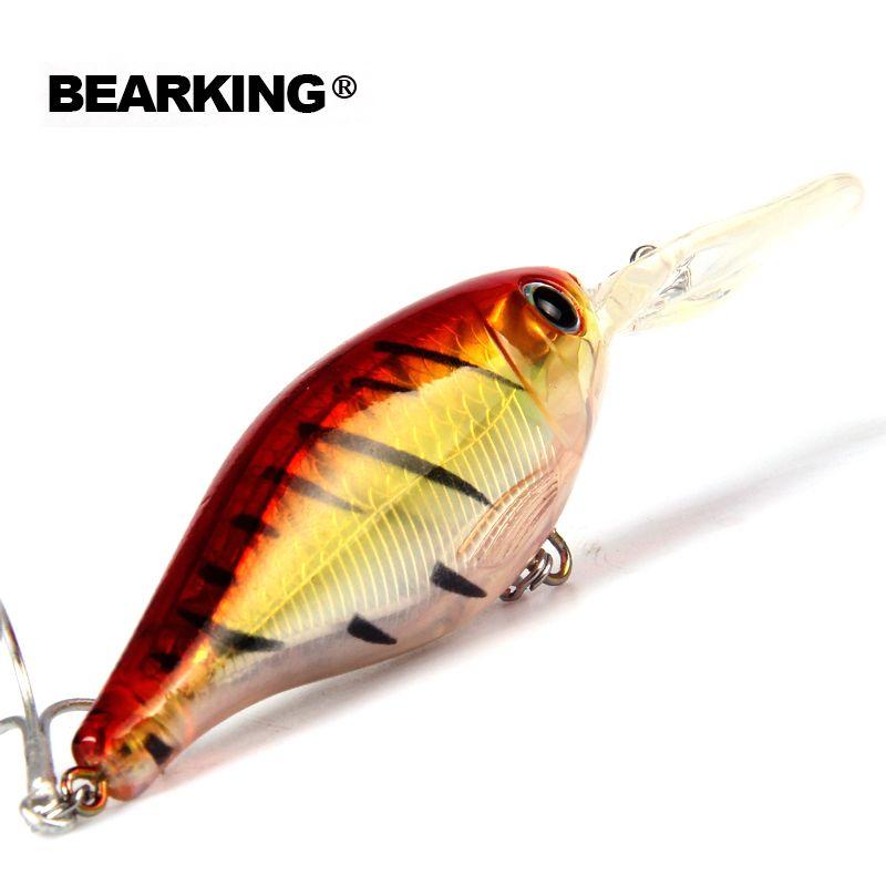Au détail 2017 bonne pêche leurres minnow, l'alose qualité professionnel dur appâts 8 cm/14g, bearking CHAUDE MODÈLE penceilbait crankbait