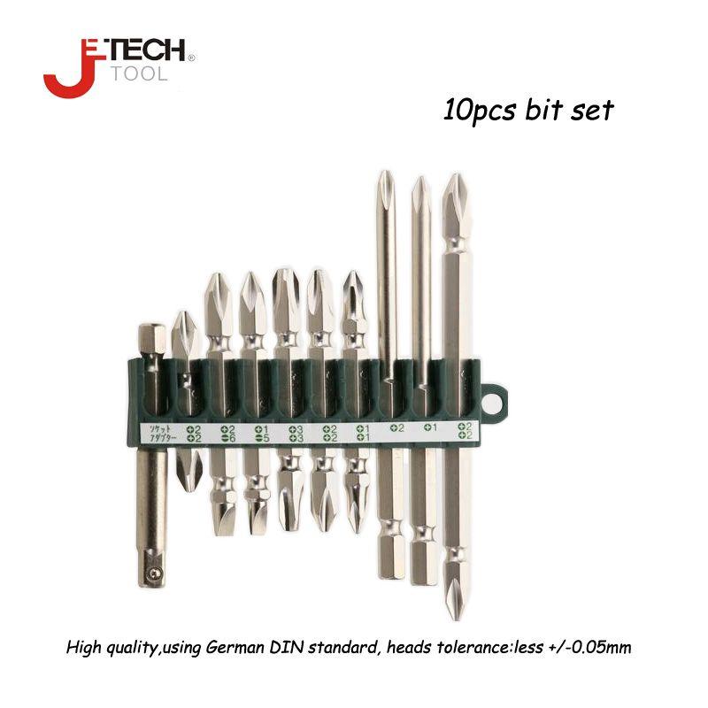 Jetech 10 pcs précision 1/4