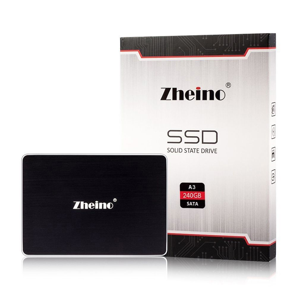 New Arravials!(A3-240GB)SATAIII SSD internal solid state Drive Disk 3D Nand 6GB/S with Zheino SSD Disk for Laptop Desktop