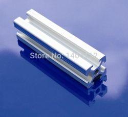 En aluminium Profil Aluminium Extrusion Profil 2020 20*20 couramment utilisé dans le montage cadre du dispositif, table et présentoir