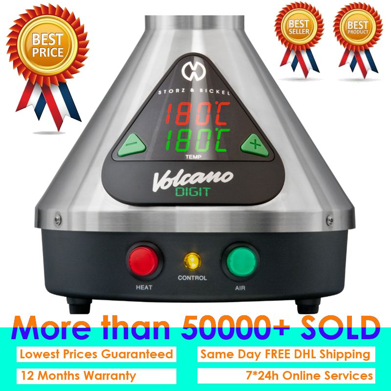 2018 November New Arrival Desktop Vaporizer Volcano Vaporizer With Easy Balloons Included Full Kit Free DHL Shipping Worldwide