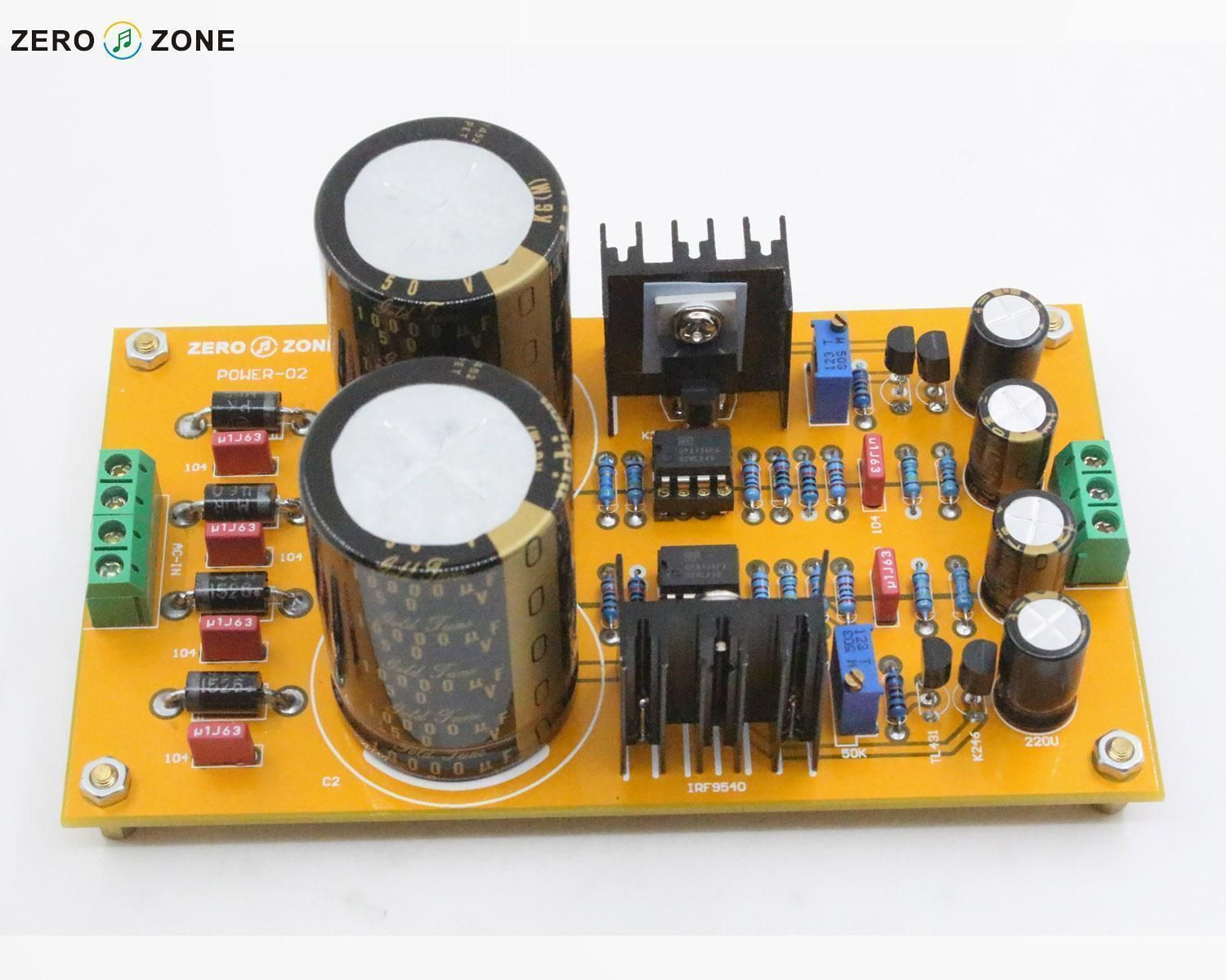 GZLOZONE Assembeld Upgraded POWER-02 Adjustable Regulator / Linear Power Supply For Preamplifier