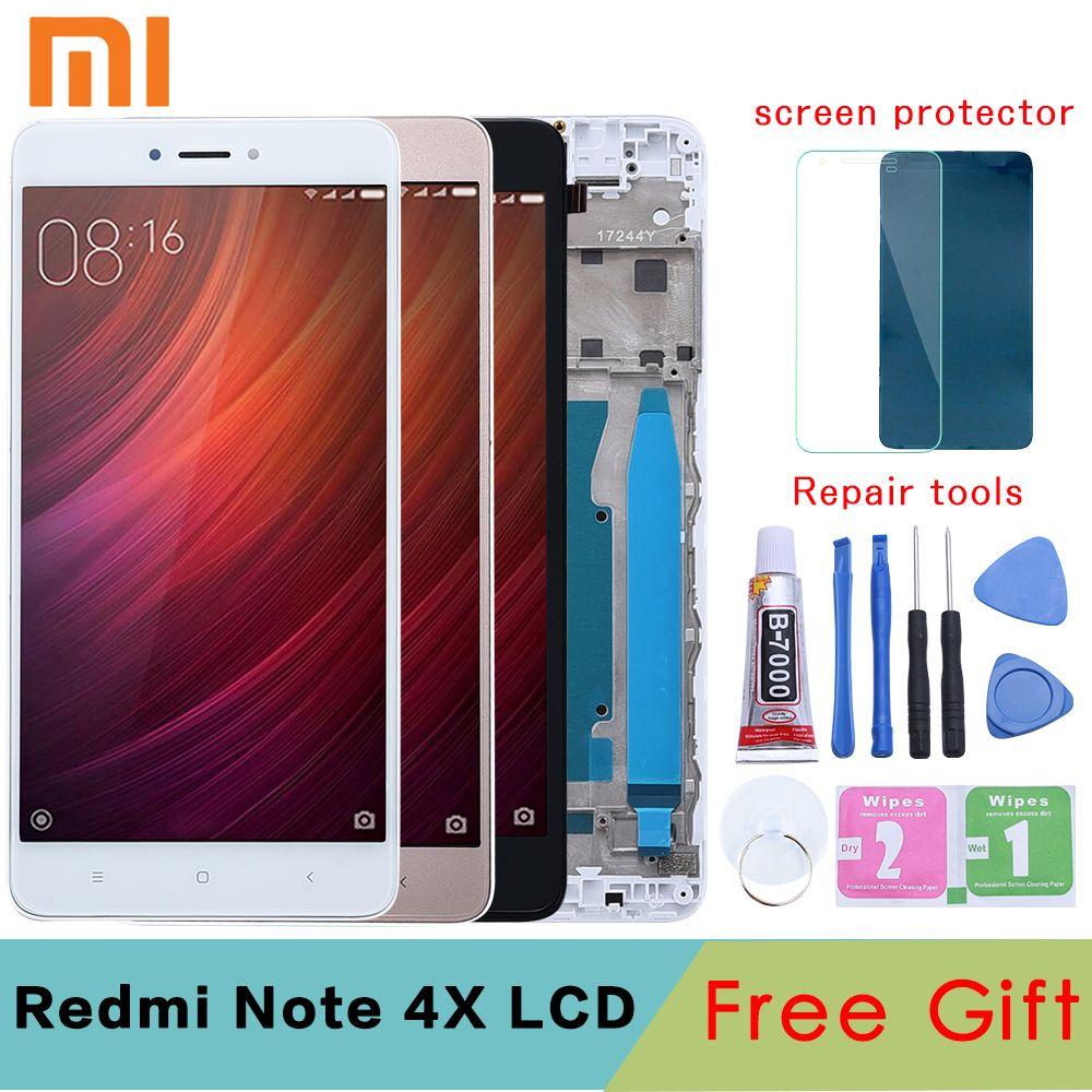 Original 5.5 pour XIAOMI Redmi Note 4X LCD écran tactile numériseur de remplacement NOTE 4X LCD pour Snapdragon 625