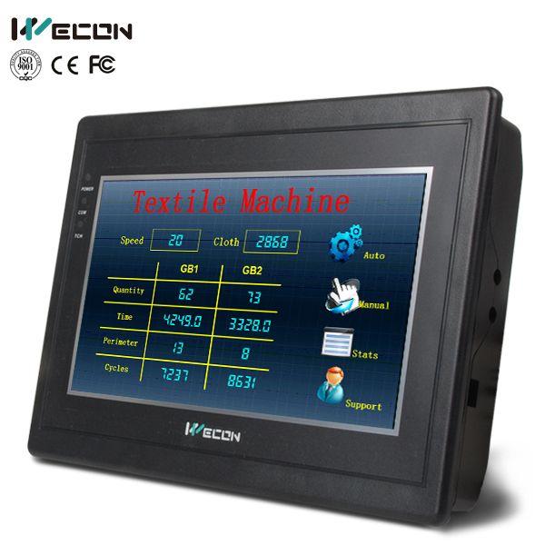 Learning plan Wecon 7 inch HMI and 14 digital I/O PLC(transistor)