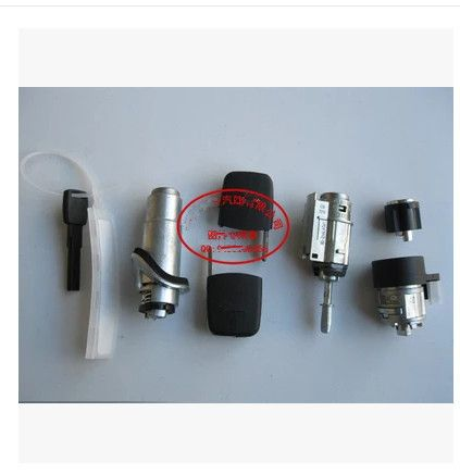 set Whole vehicle Lock cylinder (include door +ignition+Tailbox lock ) FOR AUDI A6 C5 2000-2004