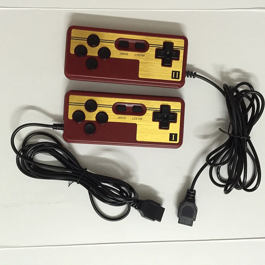 2pcs / 1pc Nostalgia Special gamepad, handle for the NES 9 pin socket handle controller gamepads Line length 1.8 meters