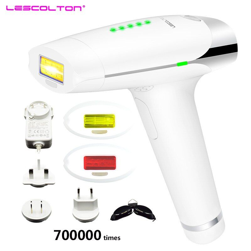700000 times Lescolton depiladora Laser Hair Removal Machine Laser Epilator Hair Removal Bikini Trimmer Electric epilator women