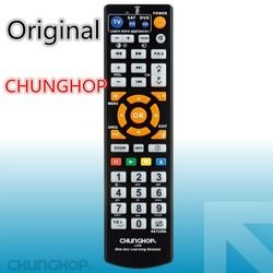 Original Product chunghop L336 copy Smart Remote Control Controller With Learn Function For TV CBL DVD SAT  learning
