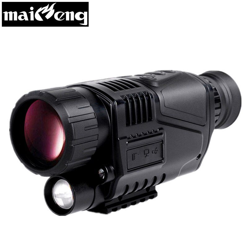 Professional Infrared Night Vision Monocular Powerful Digital Telescope hd for Hunting in the night Long Range monocular scopes