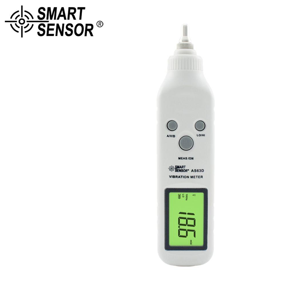 SMART SENSOR Pen Type Vibration Meter Pocket vibrometer Tester Gauge Analyzer Measure Precision sensitivity accelerometers
