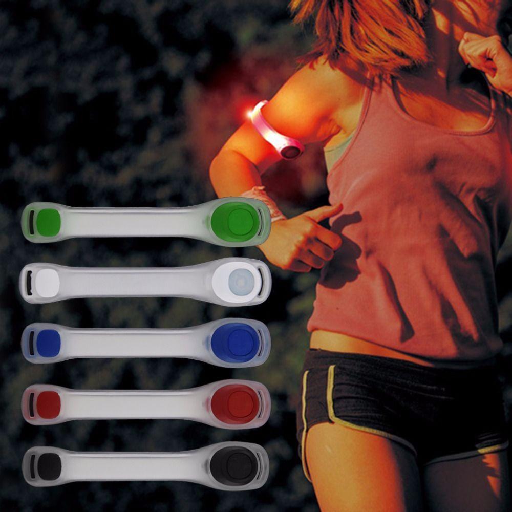 1 Stück Reflektierende Sicherheitsgurt Arm Strap Nacht Radfahren Laufen LED Armband Licht Heißer Verkauf