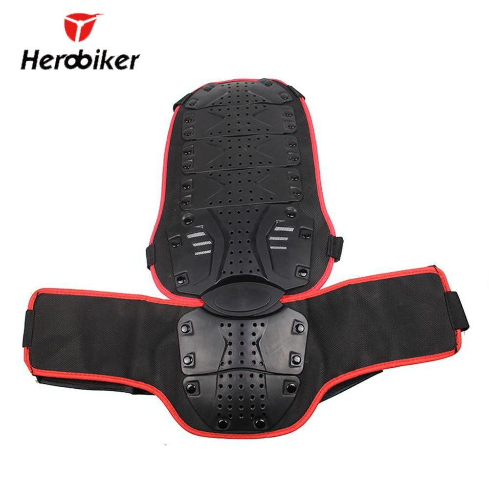 HEROBIKER-MC1004R Motorcycle Protection Moto Bike Body Armor Backpiece Back Protective Motocross Back Protector