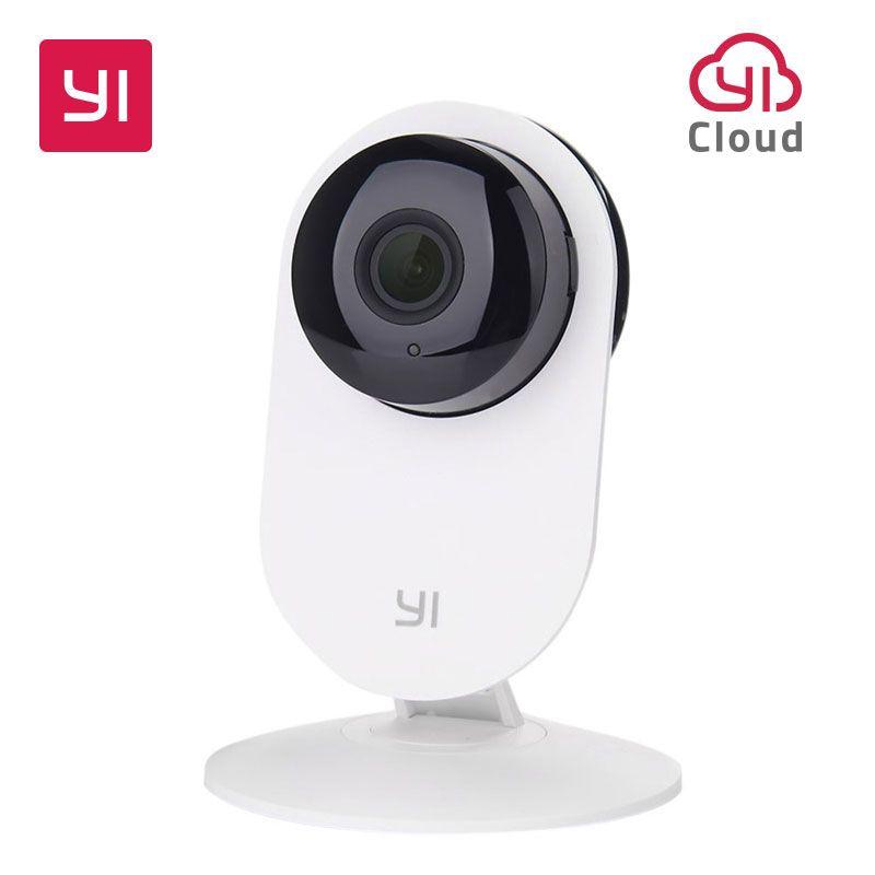 YI Home Camera 720P HD Video Monitor IP Wireless Network Surveillance Security Night Vision Alert Motion Detection EU/US Version