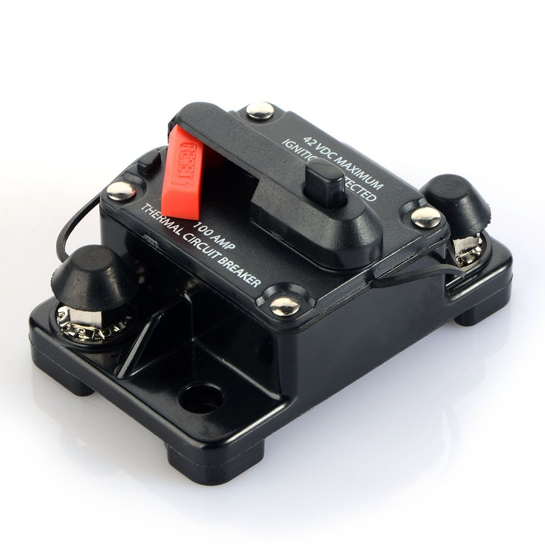 80A/100A/150A/200A/250A Amp Car Auto Audio Marine Boat Audio Circuit Breaker DC 12V/24V/42V