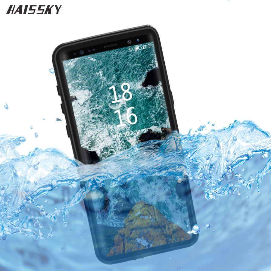 Couvercle de coque étanche IP68 pour Samsung S10 Plus étui S9 S8 Note 8 9 étanche pleine protection sous-marine plongée anti-chocs Fundas