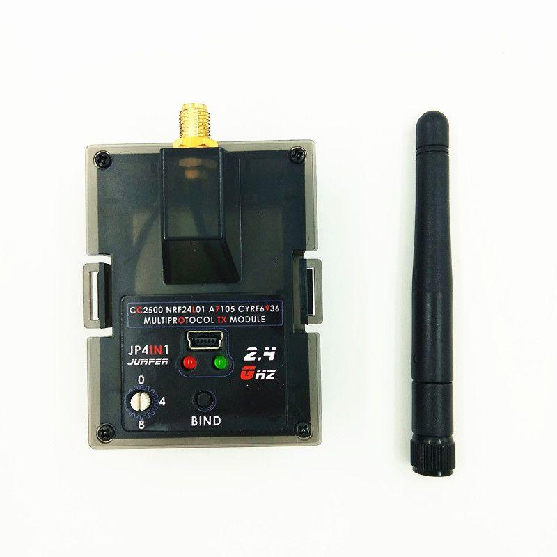 Jumper JP4IN1 CC2500 24L01 JP4-in-1 Multi-protocol RF Module Tuner for Frsky JR Flysky DEVO Esky WLtoys Hubsan