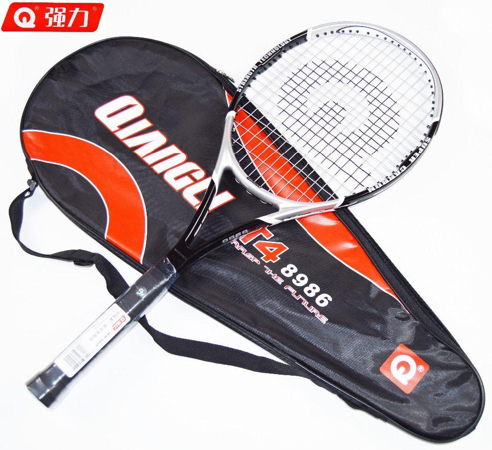 Authentische Qiangli 8986 tennis tennis masculino Vollen kohlefaser tennisschläger raquetas de tenis raquete de tenis