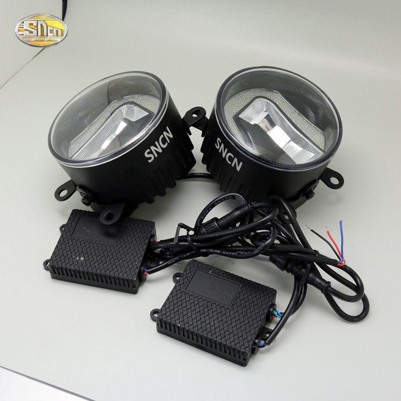 SNCN High Brightness 90mm LED fog lamp for Nissan Patrol 2005~2015 Daytime Running Lights LED DRL