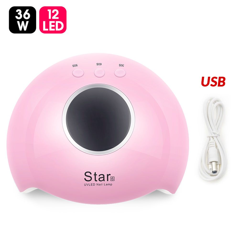 I'M GIRL Nail Dryer For Nail LED UV Lamp 36W MINI USB Lamp For Manicure Drying All Gels Nail Polish Nail Art Tools