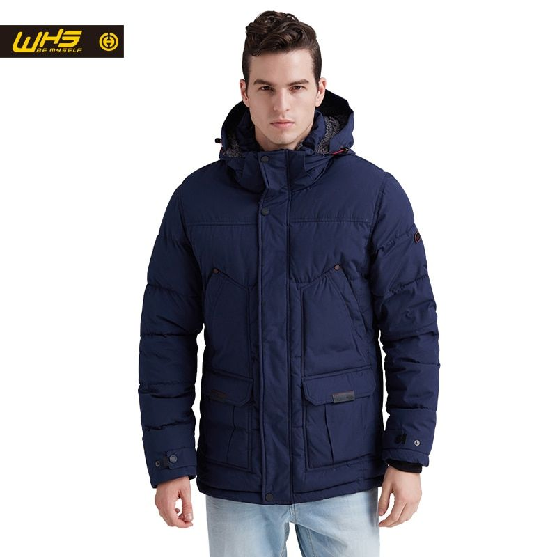 WHS NEW Men cotton jacket outdoor in Winter mens parkas thick warm coats male thermal jackets windproof coat hiking clothing