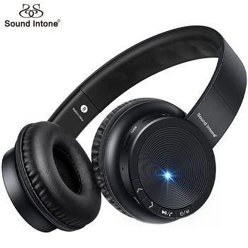 Звук интонировать P30 Bluetooth наушники с микрофоном Поддержка TF карты Беспроводной наушники стерео Бас гарнитуры для Xiaomi для iPhone PC