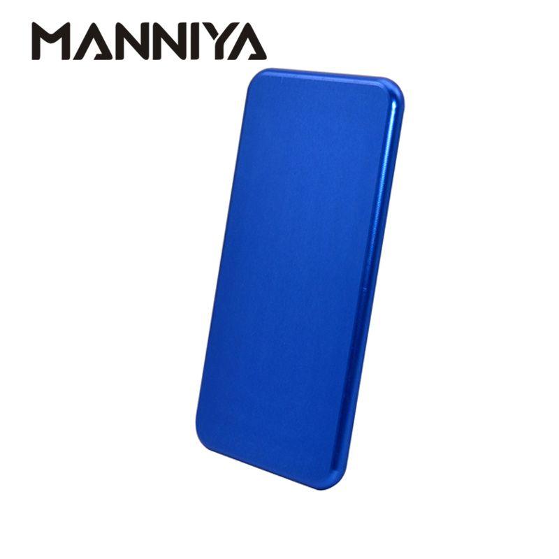 MANNIYA pour iphone 11/11 Pro/11 Pro Max/X XS XR XS Max 7 8 7plus 8plus outil de moule en métal de Sublimation 3D