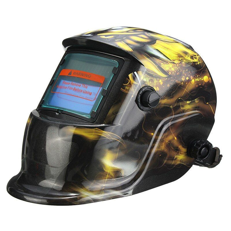 Neue Solar Auto Verdunkelung Schweißhelm Tig Maske Welder Grinding Maske Phenix