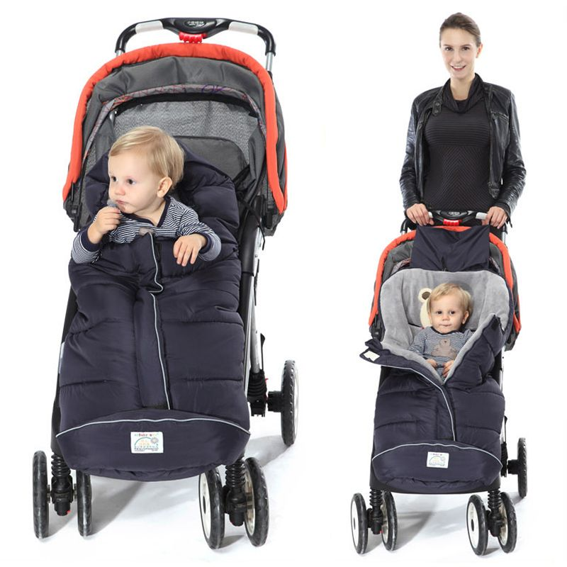 Winter Baby Sleeping Bags Baby Cocoon Sleepsacks Soft Warm Envelope For Newborn Stroller Sleeping Bags With Footmuff For Pram