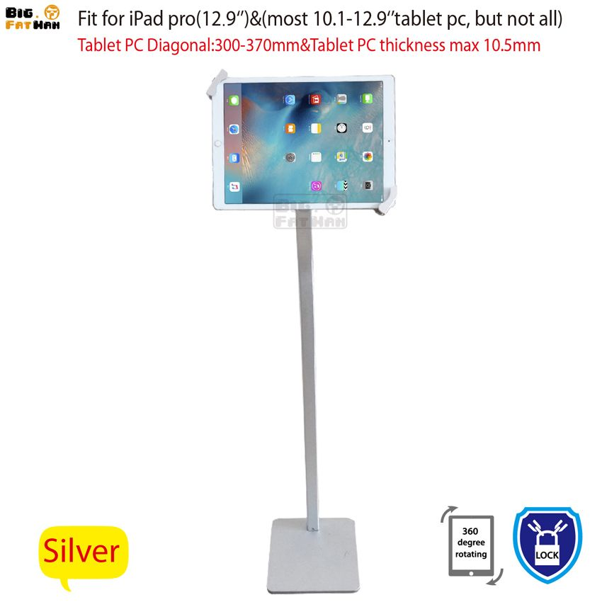 Tablet Stand Kiosk Mount Floor stand for most 10.1-12.9
