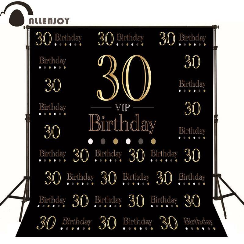 Allenjoy фоновые Роскошные элегантные аристократ на день рождения оригинальный дизайн фотографии фонов пользовательские винил ткань