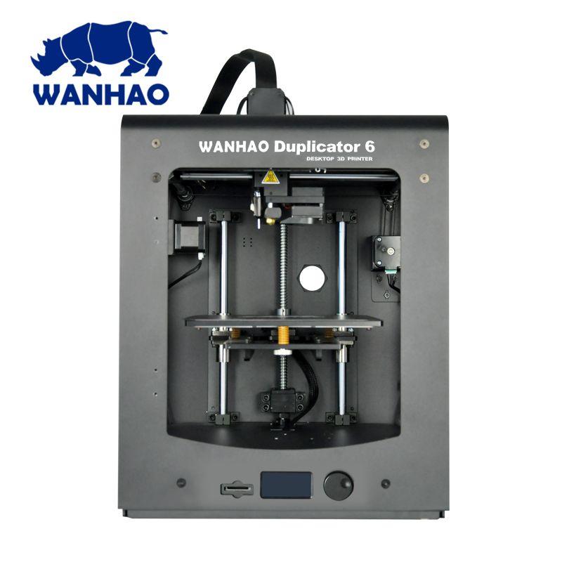 Top verkauf 3D drucker Wanhao D6 PLUS DIY 3d drucker mit mehr stabile leistung schnelle druck geschwindigkeit und lebenslauf druck