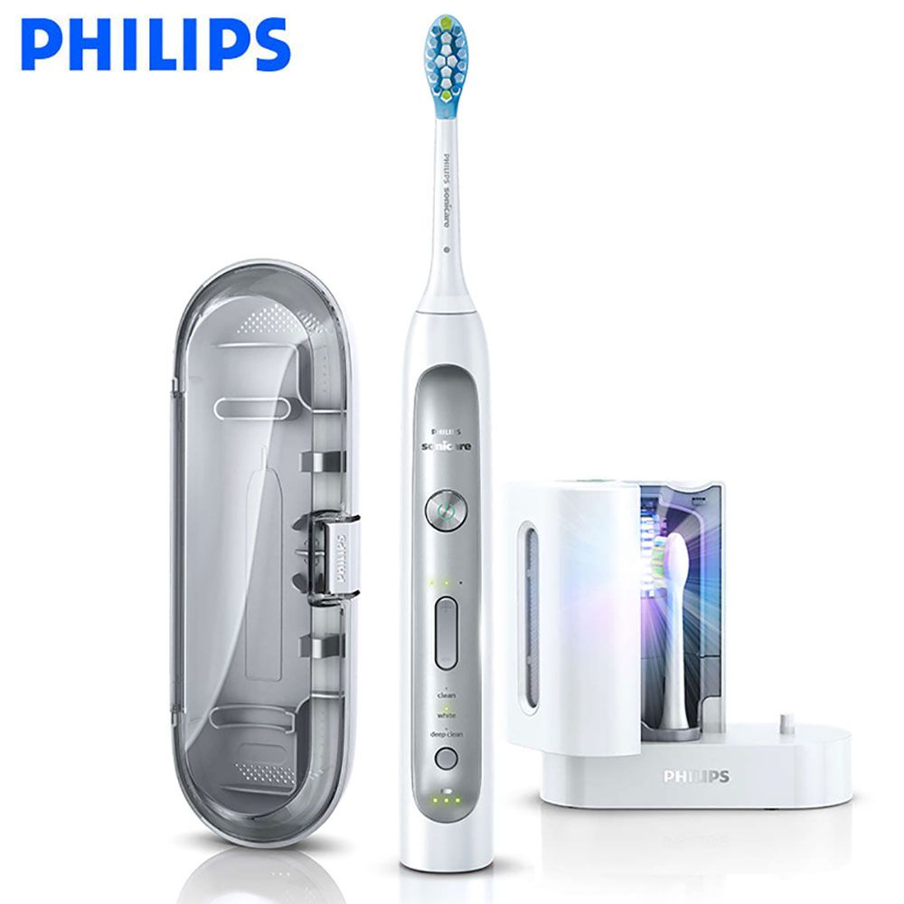 Philips Sonicare FlexCare Platinum Sonic electric toothbrush with 3 modes pressure sensor HX9172/19 for adult/children 110-220V