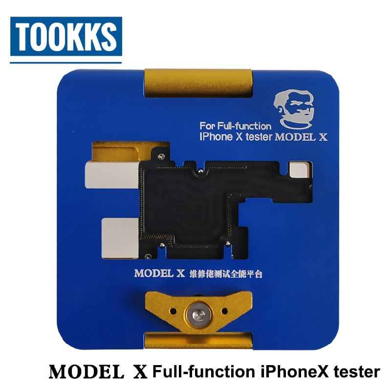 Full-function iPhone X tester For boot/display/touch/camera/flash/photosentive/distance/recever/speaker/online/wifi Test
