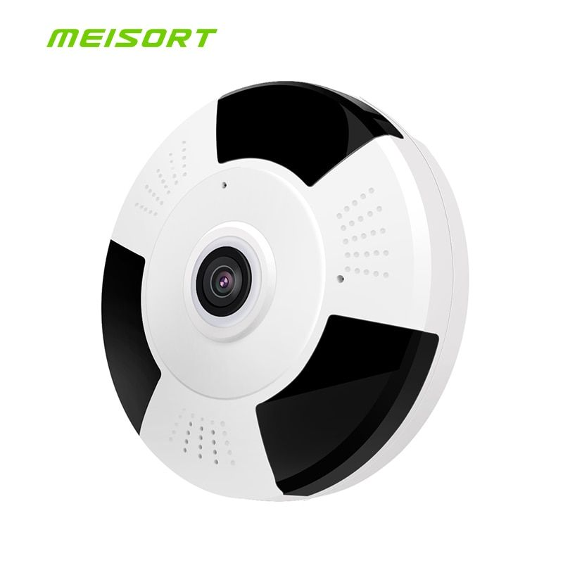 1080P/960P HD IP Camera Fisheye Panorama IR Night Vision HD Wifi Camera 360 Degree Full View Home Security Surveillance Camera