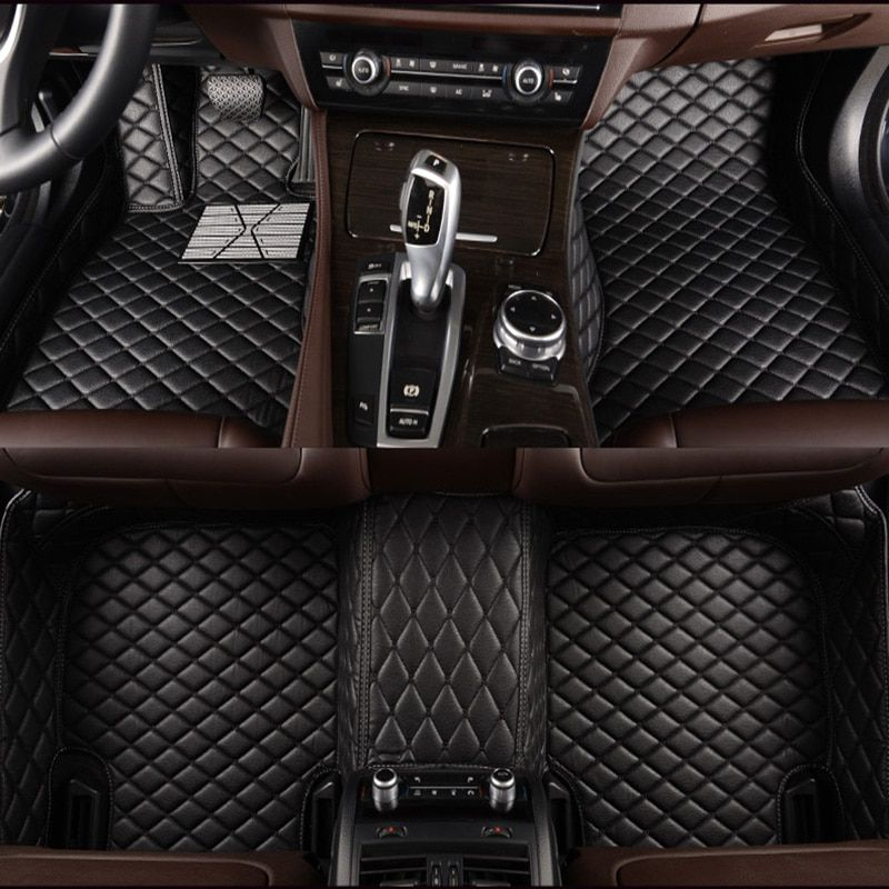Tapis de sol de voiture sur mesure pour Chrysler 300c 3D tapis accessoire de voiture résistant à tous les temps