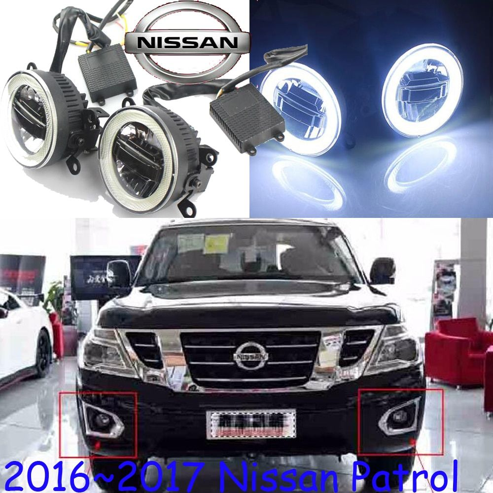 LED 2015~2017 Patrol fog light,Y62,Free ship!Patrol headlight,Micra,Titan,versa,stanza,sentra,Tsuru,Patrol daytime light